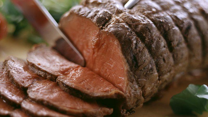 Lager roast beef