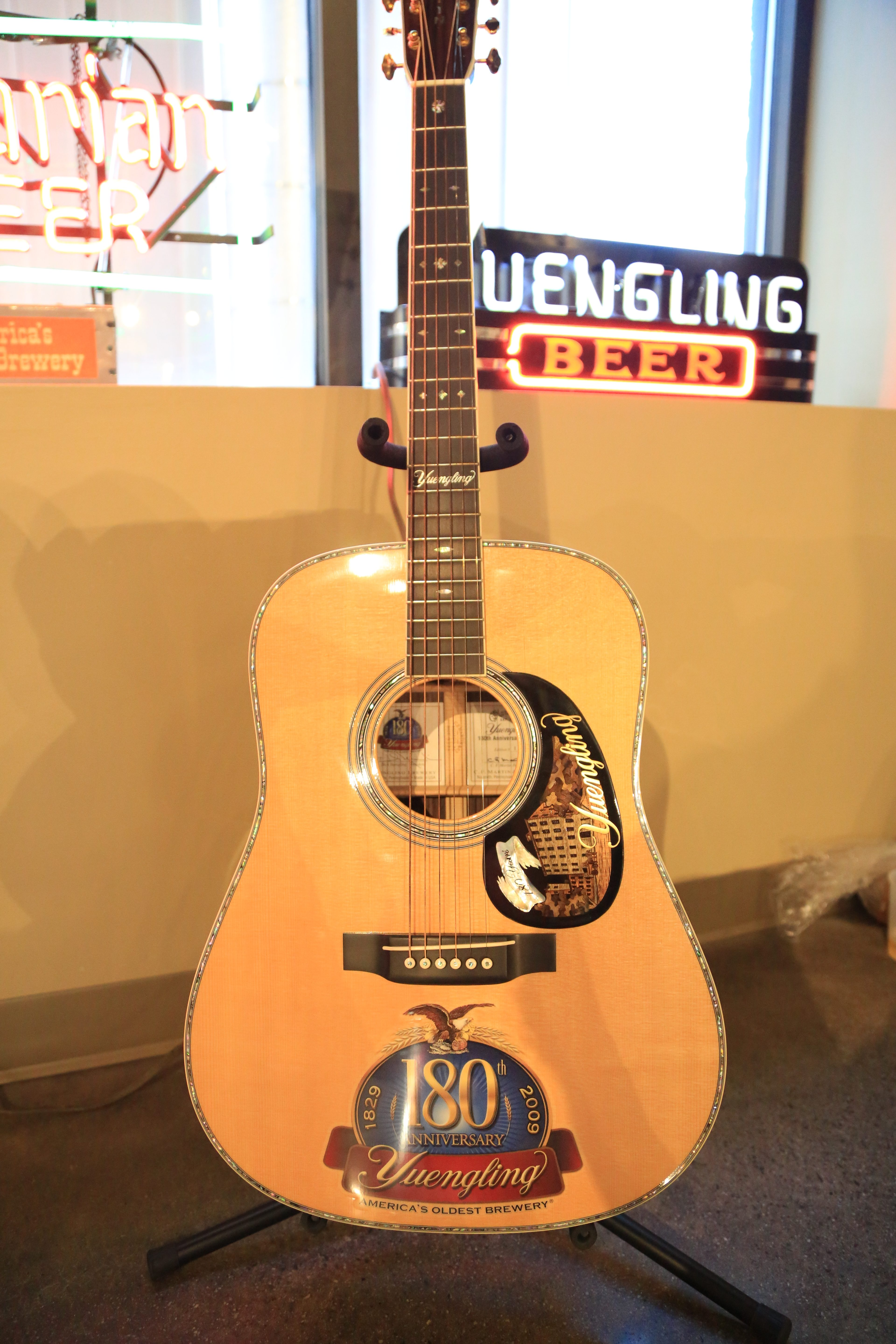 Partnering with Martin Guitar - Yuengling